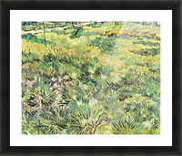Meadow in the Garden of Saint-Paul Hospital by Van Gogh Picture Frame print