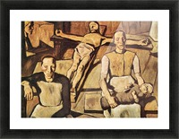 Mother by Albin Egger-Lienz Picture Frame print