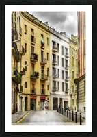 Barcelona Street Picture Frame print