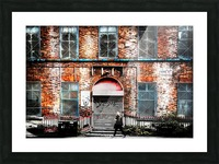 Liverpool City Street Picture Frame print