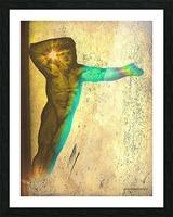 Edward Burne Jones retouched 2 Picture Frame print