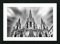 Barcelona Cathedral Picture Frame print