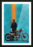 caferacer Picture Frame print