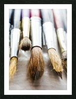 The Artists Brushes Picture Frame print