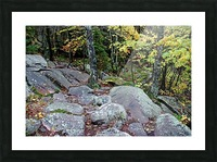 Chikanishing Trail Picture Frame print