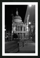 St. Paul's Cathedral London Picture Frame print