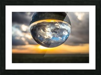 Lens Ball3 Picture Frame print