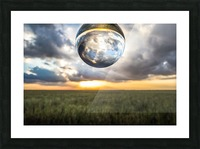 Lens Ball Picture Frame print