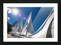 Seattle Washington Picture Frame print