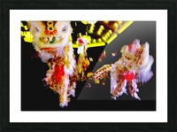 Chinese New Year Picture Frame print