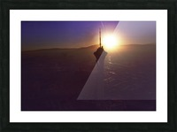 Stratosphere Picture Frame print