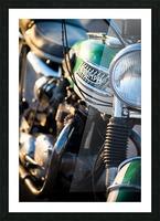 1964 Bike Picture Frame print