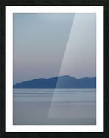 Evening at Transfer Beach Picture Frame print