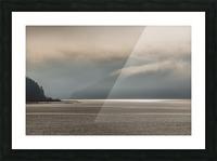 Alberni fog Picture Frame print