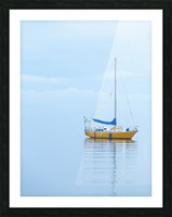 Where the ocean meets the sky Picture Frame print