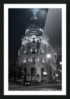 Metropolis Boulding   Grand Via   Madrid Picture Frame print