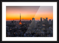 TOKYO 01 Picture Frame print
