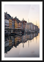 COPENHAGEN 02 Picture Frame print