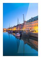 COPENHAGEN 07 Picture Frame print