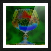 REFRACTION Picture Frame print