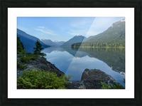 Strathcona calm Picture Frame print