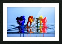 drizzles Picture Frame print