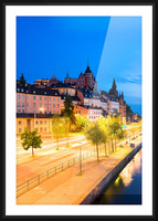 STOCKHOLM 02 Picture Frame print