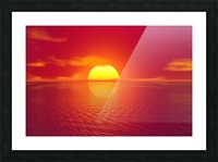 Beautiful Nature Landscape sunrise sunset sun Photography landscape photo Scenery Picture Frame print