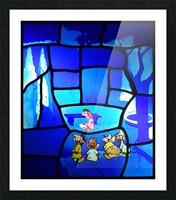 cinderella 2 Picture Frame print