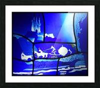 cinderella Picture Frame print