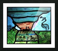 The Little Mermaid 1 Picture Frame print
