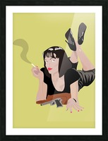 Pulp Fiction Picture Frame print