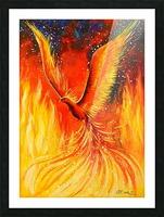Phoenix bird Picture Frame print
