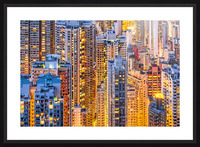 HONG KONG 34 Picture Frame print