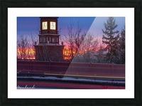 StAlbertTrail_StAlbertClock_Jan18_IMG_6032 Picture Frame print