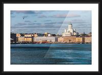 HELSINKI 01 Picture Frame print