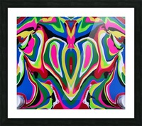 Heart and Soul Picture Frame print