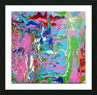 Meltdown Picture Frame print