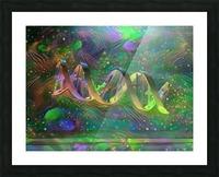 DNA Strand Artwork Picture Frame print