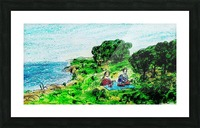 Picnic Picture Frame print