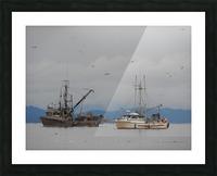 Herring Season Picture Frame print