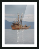 Lights on the Water Picture Frame print