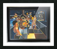 La verrerie  Picture Frame print