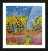 Apple Harvest Time Picture Frame print