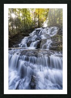 Trahlyta Waterfall Picture Frame print