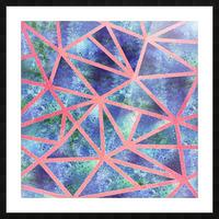 Geometric XXXIII Picture Frame print