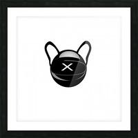Cozmo Black Picture Frame print