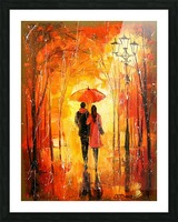 Walk in the Park Picture Frame print