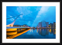 DUBLIN 01 Picture Frame print