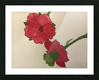 A Floral Dream Picture Frame print